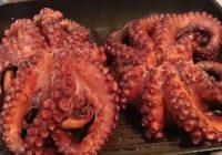 Как и сколько жарить осьминога